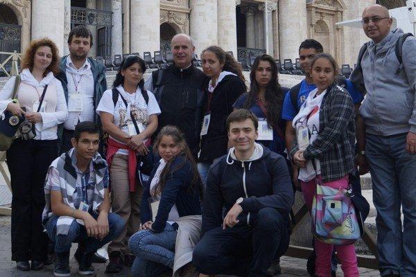Zážitok na celý život. V Ríme strávili niekoľko dní.