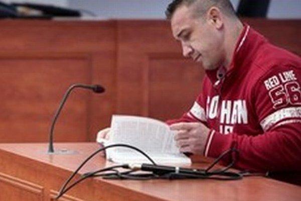 Róbert Okoličány na špeciálnom súde.