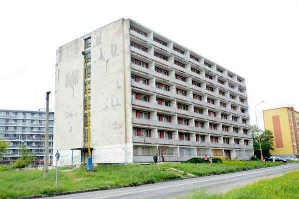 Z ubytovne vznikne bytovka. Košická firma získala od nemocnice dve budovy. Jednu v roku 2011, druhú nedávno.