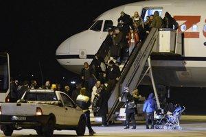 Iračania pristáli na košickom letisku.