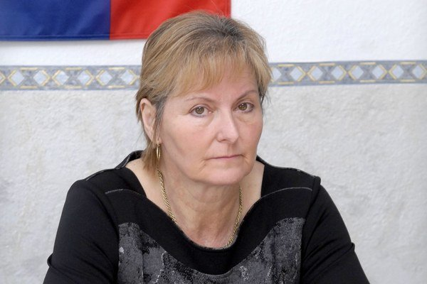 Exstarostka Mária Birošová.