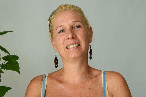 Katarína Obyšovská. Jedáva len dva razy za deň.