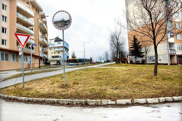 Nové parkovisko bude oproti novostavbe na Klimkovičovej.