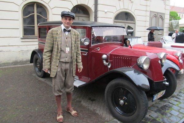 Tatranský taxík. Milan Mladoň predstavil auto z roku 1927.