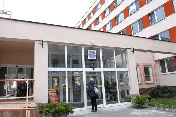 Stredisko sociálnej pomoci mesta Košice na Garbiarskej.