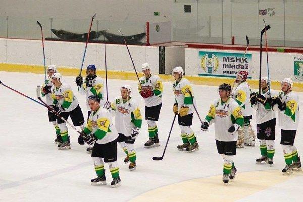 Hokejisti Prievidze.