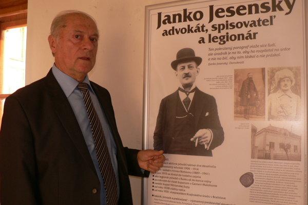 Výstavu nám predstavil Anton Števko. (ČE)