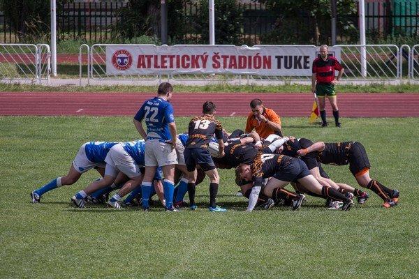 Košickí rugbysti vyhrali.