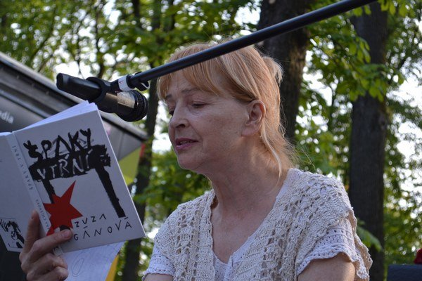 Zuzana Cigánová. Herečku ste už v Kulturparku mali možnosť vidieť a počuť.