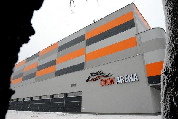 Crow Arena na Kavečianskej ceste v Košiciach.