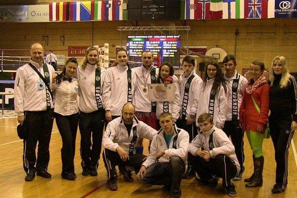 Croatia Open v Karlovaci. Úspešná výprava košických kickboxerov.