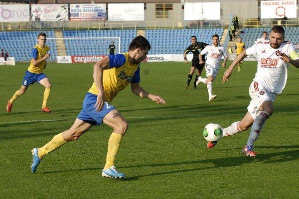 Na jar po prvý raz bez bodu. Košice prehrali v Trnave 0:1.