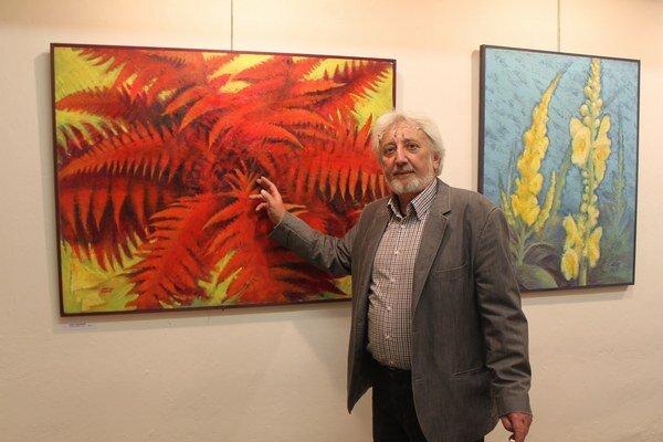 Výtvarník z Ľubice svoje umenie predstavuje v Galérii VEBA.