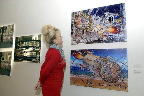 Tvorba mladého Košičana. Výstava Marka Blaža je predĺžená do 20. októbra.