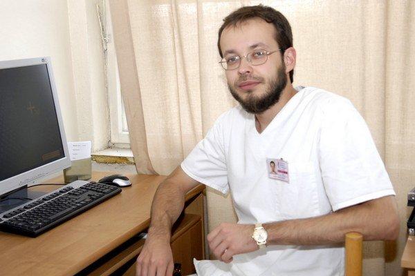 Doktor Radovan Tiško. Vo výskume chce pokračovať.