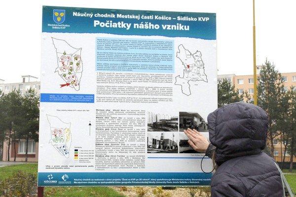 História sídliska. Prečítať si ju môžete v Drocárovom parku.