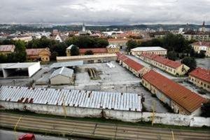 Areál Malinovského kasární v Košiciach.