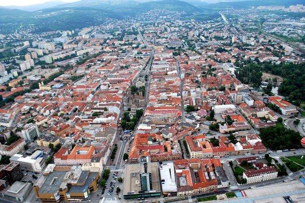Košice. Počet obyvateľov medziročne poklesol na 240 164.