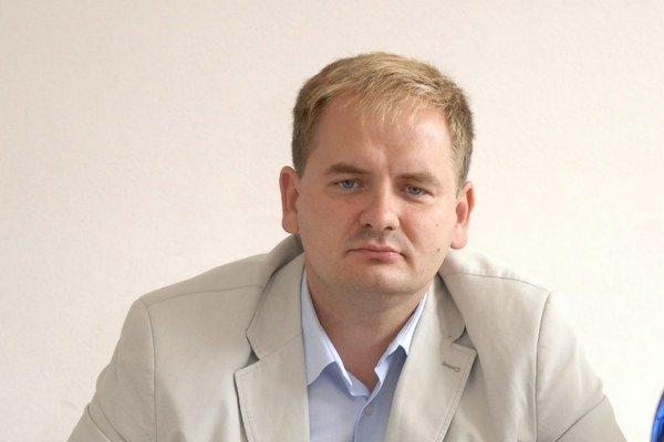 Vladimír Saxa. Starosta mestskej časti Krásna.