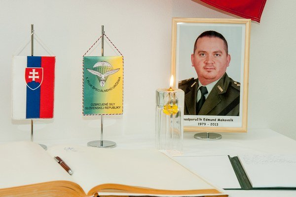 Npor. Ing. Edmund Makovník z Košíc.