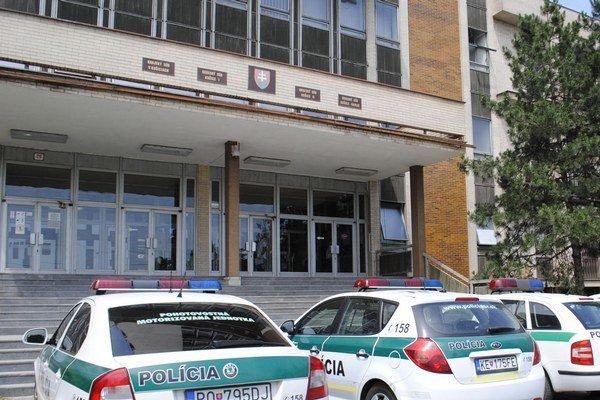 Budova košických súdov. Sídli v nej aj Okresný súd Košice II.