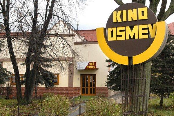 Bývalé kino má dve premietacie sály.