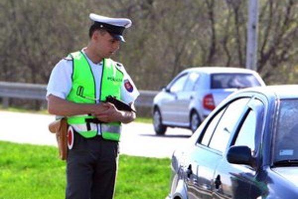 Polícia 61-ročnú Košičanku zastavila v rámci kontroly.
