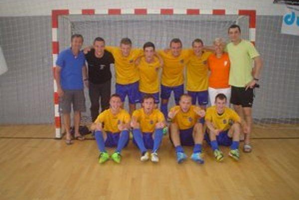 Majstri. Futsalisti Technickej univerzity.