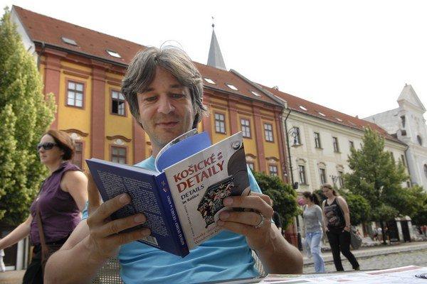 S ďalšou knihou. Milan Kolcun tentoraz opísal košické detaily.