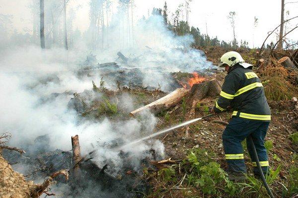 Horúčavy nahrávajú požiarom.