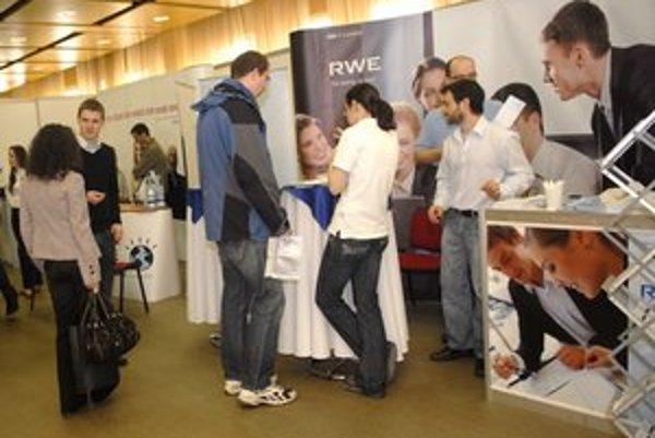 Trh práce minulý rok prilákal 1 300 záujemcov.