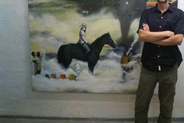 Slavomír Durkaj. Aj jeho obraz je súčasťou pätnásťročnej histórie Fakulty umení TUKE.