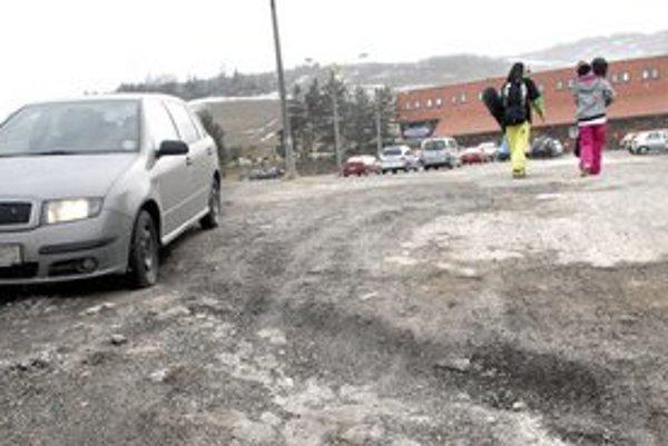 Opustené auto. Môže sa stať terčom zlodejov.