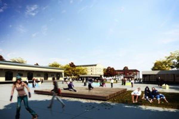 """Kulturpark. Hotový """"by mal byť"""" v máji..."""