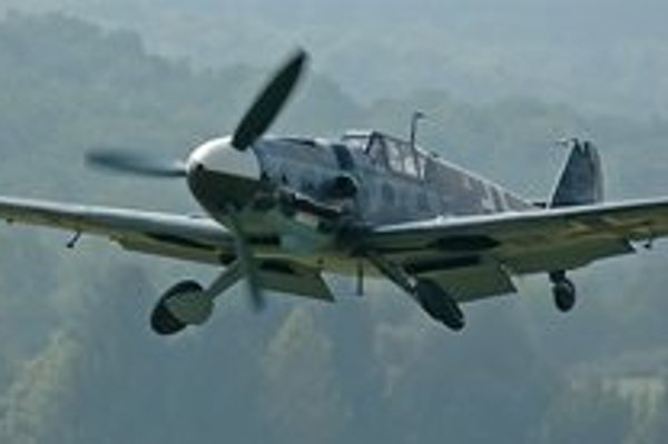 Messerschmitt. Bude ozdobou múzea letectva.