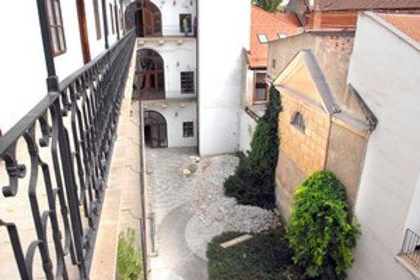 Takto vyzerá dnes Barkóczyho palác.