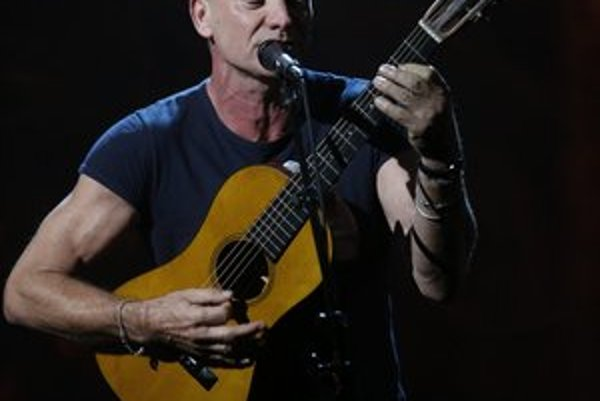 Sting. Rocková hviezda sa východniarom predstaví v sobotu.
