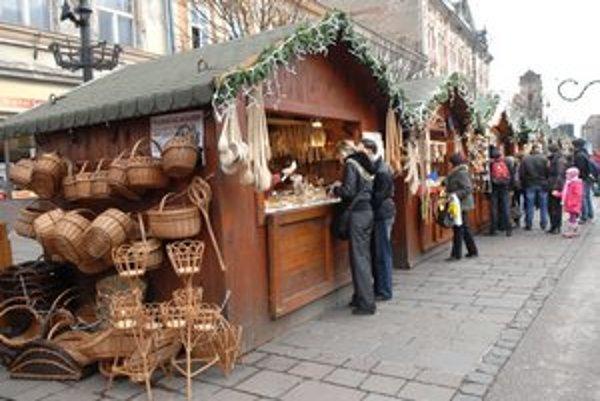 Vianočné trhy štartujú už vo štvrtok.