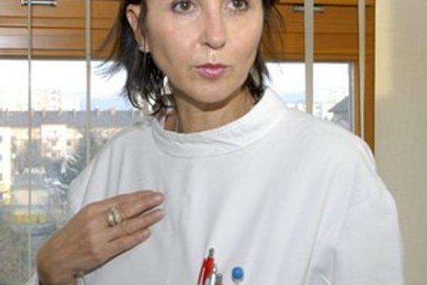 Nataša Džunková. Je opäť riaditeľkou onkoústavu.