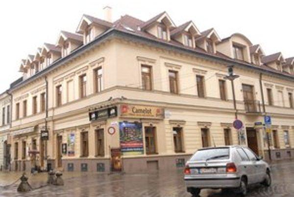 Budova na Kováčskej. Z jej predaja sa do konkurznej podstaty Delty nedostalo nič. Museli uspokojiť záložného veriteľa.