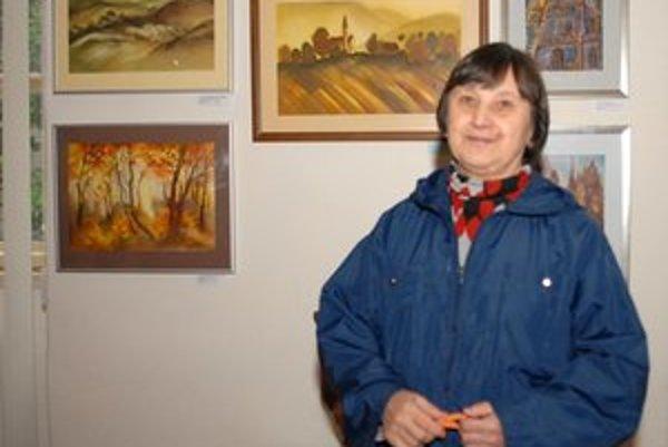 Vesna Nehrebeczká si odniesla hlavnú cenu. Porotu Košičanka oslovila kolekciou akvarelov.