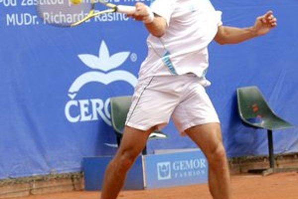 Dominik Hrbatý. Ani tento rok nevynechal turnaj na Aničke.