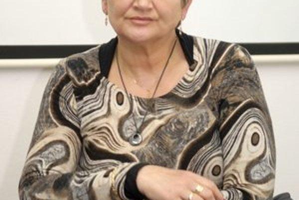 Kontrolórka Ľudmila Slunečková pracuje na pätinový úväzok.