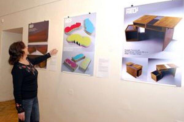 Dizajnéri radia výrobcom. Výstava potrvá do 5. decembra.