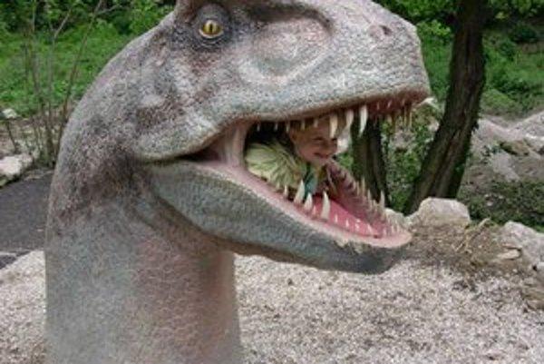 Fotosaurus. Očarí deti i dospelých.