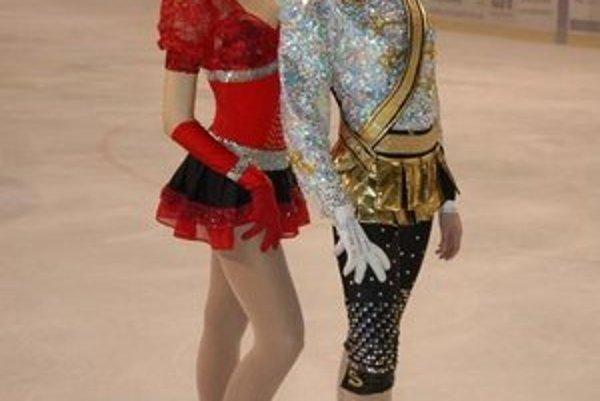 Zľava Katka a Andrejka