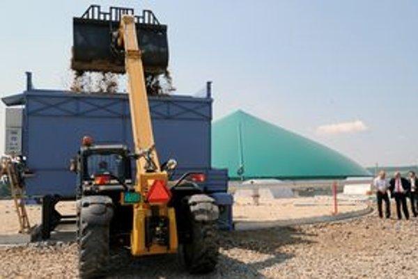 Energiu budú vyrábať z poľnohospodárskeho odpadu.