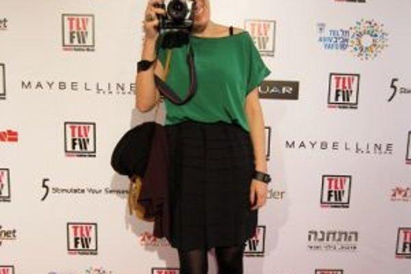 Módna blogerka Marika Majorová na Tel Aviv Fashion Week