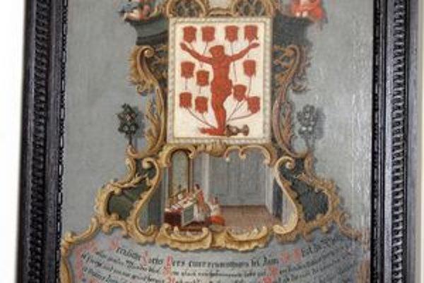 Relikvie Kristovej krvi. Pre pútnikov pripravili na nedeľu 6 000 obrázkov.