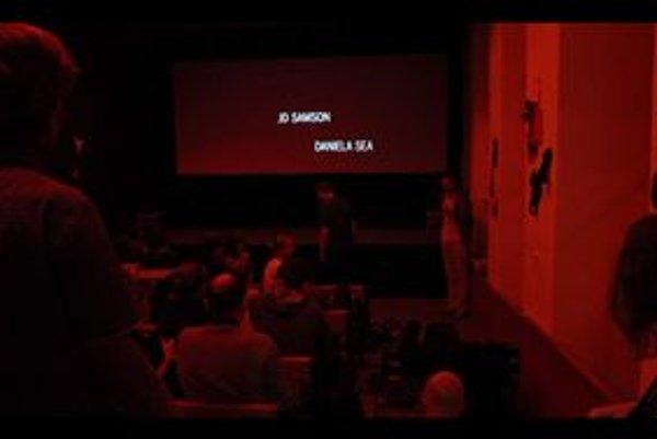 Sexi filmová noc. Nočná atmosféra v kine so 70 miestami bola výnimočná.
